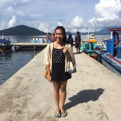 Back home, sea  #travelling #beach #ootd #exploreindonesia #explorelampung #pahawangisland
