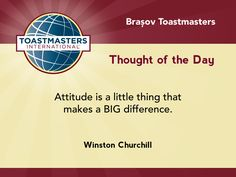 A quote by Winston Churchill on attitude.