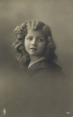 Vintage Children Photos, Glamour, Historical Photos, Kids Girls, All Things, Romantic, Lady, Artwork, Fictional Characters