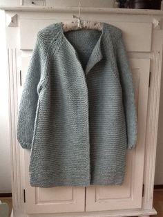 Vest gebreid van Julia wol
