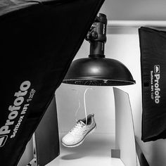 """Curated by Famous BTS Magazine. #famousbtsmag #famousbtsmagazine @famousbtsmagazine #bts #behindthescenes #productphotography Christophe Benard on Instagram: """"Flying shoes in the studio today! Final images coming up next week... #yeg #yegphotographer #bts #behindthescenes #skechers #shoe #shoes…"""" See this Instagram photo by @benardphoto • 235 likes"""