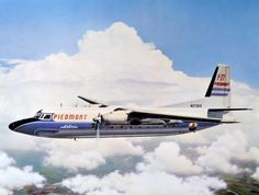 Piedmont Airlines Fokker F-27 - First plane I ever flew in, in 1963