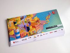 Brochura MURALIZA 2014 (frente) /// Flyer MURALIZA 2014 (front)