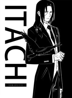 ITACHI. Who else thinks he looks like Reiji Namikawa from Death Note?