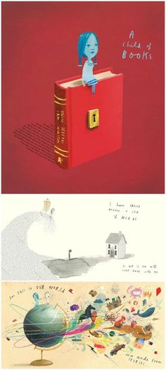 Books for kids about the arts: I Am a Child of Books by Oliver Jeffers and Sam Winston