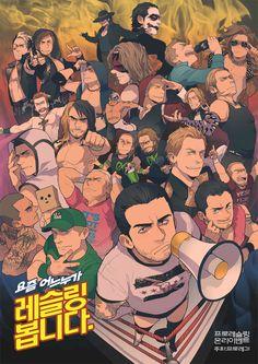 Pro Wrestling by ~cooru58 on deviantART