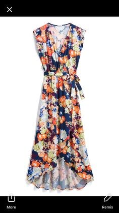 I think I would like to try a maxi dress for the summer season. I like this one.