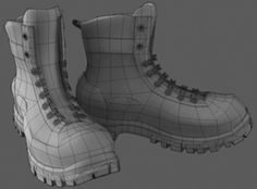 military boots, available formats OBJ, boot boots character characters clothing, ready for animation and other projects Zbrush Character, 3d Max, Combat Boots, Military, Shoes, Models, Brushes, Tutorials, Characters