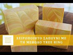 Tree Rings, Soap Making, Diy And Crafts, Artisan, Tableware, Youtube, Dinnerware, Tablewares, Craftsman