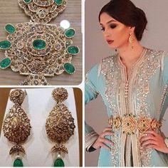 Jewelry Art, Fine Jewelry, Jewelry Design, Antique Jewellery Designs, Antique Jewelry, Moroccan Jewelry, Moroccan Wedding, Moroccan Caftan, Diamond Are A Girls Best Friend