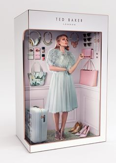 Ted Baker - Dolls Box creation - Photography (Except Model) by Chris Roome, CG Box - Martin Ocheng Barbie Box, Barbie Dolls, Instagram Photography, Living Dolls, Living Barbie, Mode Inspiration, Fashion Dolls, Ted Baker, Editorial Fashion