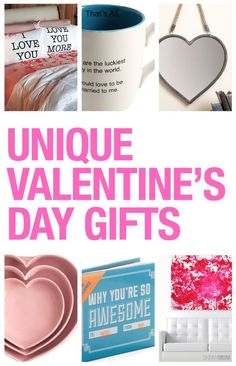 If you're looking for the perfect Valentine's Day gifts, check this out!