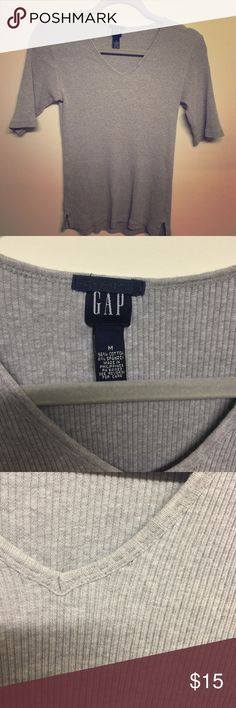 Gap stretch top size M Very sexy fitting stretch top by Gap. Love this one. Size Medium GAP Tops