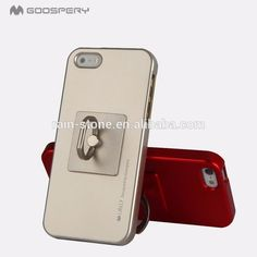 Universal mobile phone ring holder safe and secure grip finger ring holder kickstand with ring hook for iPhone 5/5S/SE