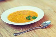Marokkaanse munt soep.