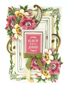 Sample card #2 from Pretty Paintings card making kit -  HSN March 24th Preview #2 | Anna's Blog