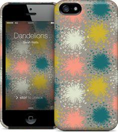 Dandelions iPhone 5S, 5 HardCase by Sarah Watts