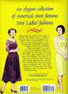 Las Recortables de Veva e Isabel: Fashion of the First Ladies .