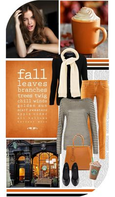"""""""Pumpkin Spice Latte"""" by chelseagirlfashion ❤ liked on Polyvore"""