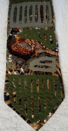 Kuna Indian Hand-Stitch Mola Necktie-Panama 16031513L