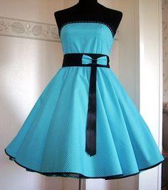 --Lana--50er-Jahre-Kleid von Schneiderei Heike Borchers auf DaWanda.com