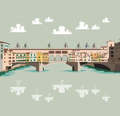 biciclette sul Ponte on Behance