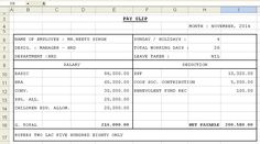 Debit Note Template Excel Format  Exceltemple  Excel Project