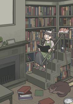 Aesthetic Drawing, Aesthetic Art, Aesthetic Anime, Art And Illustration, Bedroom Drawing, Korean Art, Cartoon Art Styles, Anime Scenery, City Art