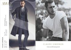 CLAUDE SIMONON - Storm Models London Fall Winter 2015.16 Show Package