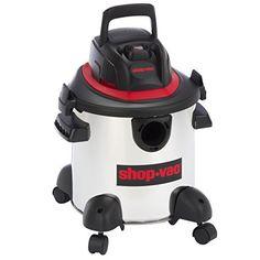 Shop Vac 2030229 Shop Vac Aspirateur eau et poussière 16 l: Price:74.86Le Shop Vac 16 Inox est un aspirateur eau et poussière avec une…