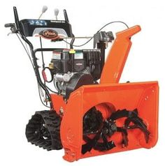Ariens Compact Track 24 in. Electric Start Gas Snow - The Home Depot Electric Snow Blower, Snow Removal Equipment, How Much Snow, Electric Pencil Sharpener, Shoveling Snow, Gravel Driveway, Zero Turn Mowers