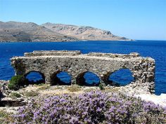 Bourtzi Castle in Agia Marina, Leros island, Dodecanese Greece Travel, Byzantine, Far Away, City Photo, Medieval, Island, Mountains, Country, Water