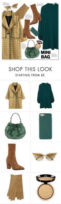 """""""So Cute: Mini Bags"""" by duma-duma ❤ liked on Polyvore featuring MANGO, Fendi, Giorgio Armani and minibags"""