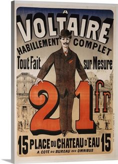 Voltaire print