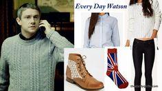 The Nerdy Girlie: Every Day Cosplay: Watson #Sherlock