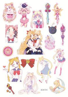Japan Anime Sailor Moon Deco Seal Stickers Minako Aino Sailor Venus V