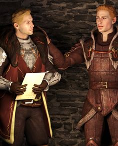 Cullen and Alistair