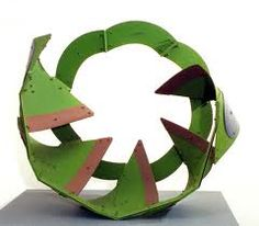 Edgar Negret Objects, Abstract Sculpture, Circles, Image, Ideas, Abstract, Art Sculptures, Green, Thoughts