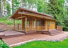 Rantatörmä Guest Cabin, Home Fashion, Pergola, Summer Houses, Outdoor Structures, House Styles, Catalog, Home Decor, Cattle Ranch