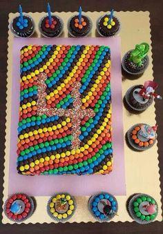 עוגת בסקוויטים -קישוט מגניב