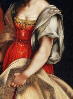 Salomé et la tête de St Jean Baptiste (détail), Cesare Da Sesto