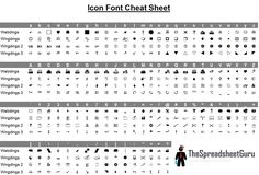 Webding+Wingding+Icon+Cheat+Sheet+Character+Map+Symbols (1000×681)