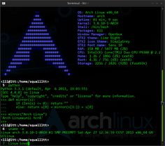 Arch Linux Terminal