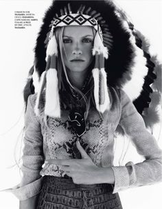 iloverunways:        Elle France 14th February 2014    Title: Le Neo-Western    Photography: Jan Welters    Model: Ginta Lapina