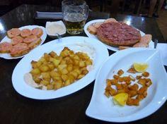 El Rincon del Cava – Cheap tapas, half portions, and drinks!