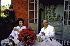 Sophia Loren at home in Rome 1960's