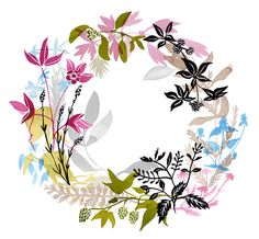 Healing Wreaths - katie vernon art + illustration