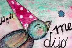 mixmedia, mixedmedia, artjournal, art, mixmediaart, mixedmediaart, details, detalles, bird, pajaro, pajarito