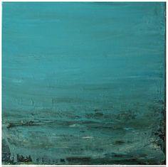 The Sea & Me - Ebb & Flow Oil on canvas 30cm X 30cm  Cora Murphy 2014 #contemporaryart #painting #ireland #artforsale Abstract Landscape, Oil On Canvas, Flow, Ireland, Contemporary Art, Irish, Sea, Painting, Irish Language