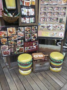 Resto à hamburgers